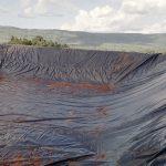 Water storage pond of 3,000,000 liters capacity