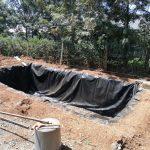 Geo membrane for fish farming