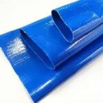 Pvc lay flat hose pipe end points